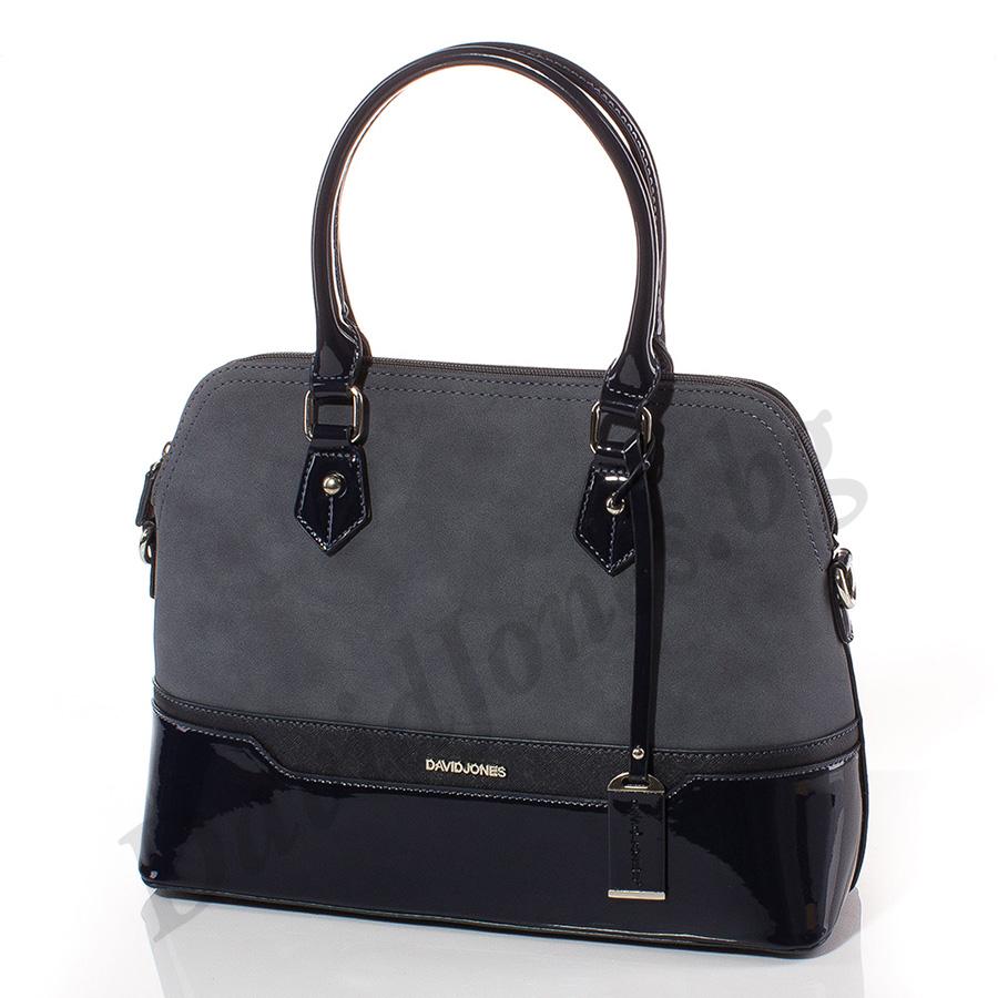 Дамска чанта David Jones 5808-324 - Тъмносин